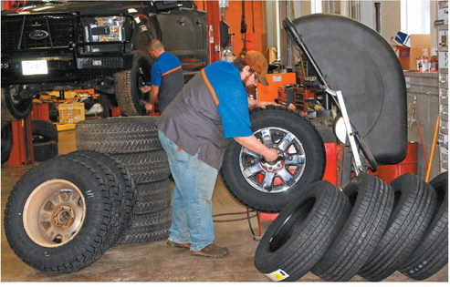 Tire care improves driver safety