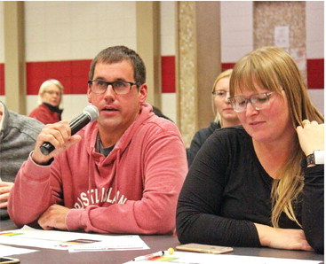 Large turnout for school district listening sessions
