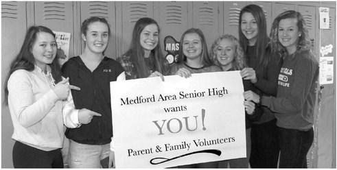Volunteers needed at the Medford Area Senior High