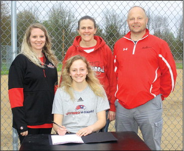 Greenwood softball star will play next at Viterbo University