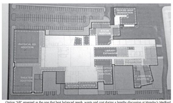 Medford board moves toward a proposed renovation plan for MASH