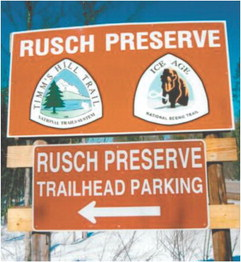Rusch Preserve —Where five trails meet