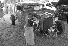 The Rumblefest car show took ….