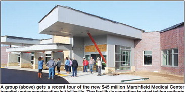 New Neillsville hospital getting close to completion date