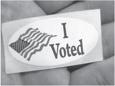 Democracy is only as strong as people voting
