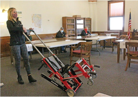County gives emergency responders a lift