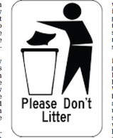 Fourth graders at Medford Area Elementary School write letters opposing littering