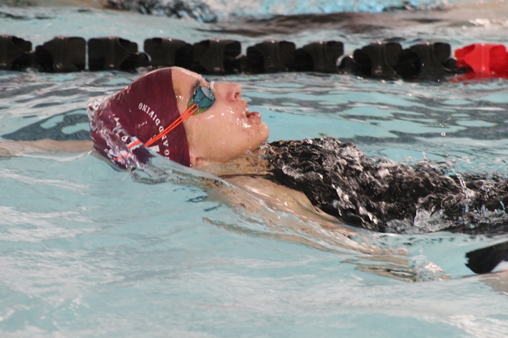Tridents send relay team and two individuals to State