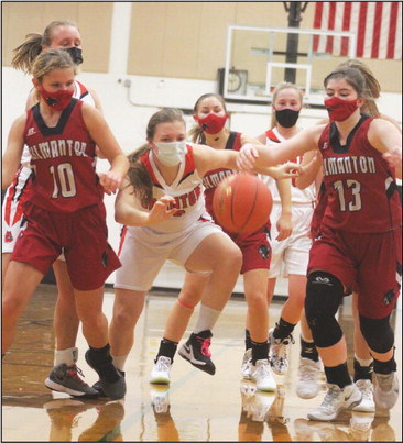 Gilmanton edges Bulldog girls with score in game's final minute