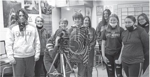Film Club wins $1,000 by sharing school pride