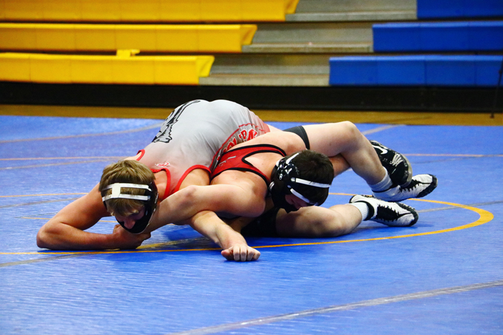 Wolfpack grinds out matches in home tri