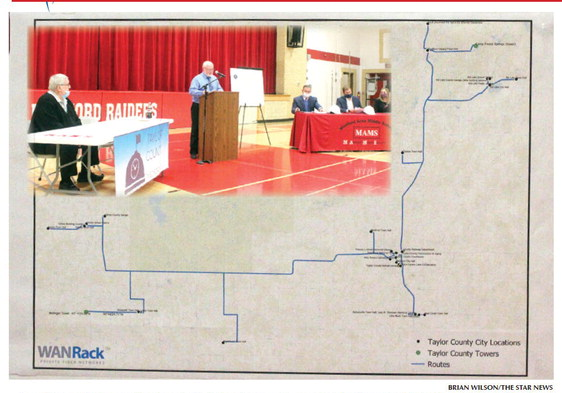 County begins partnership with WANRack