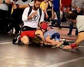 Hugh comes back as champion at youth State