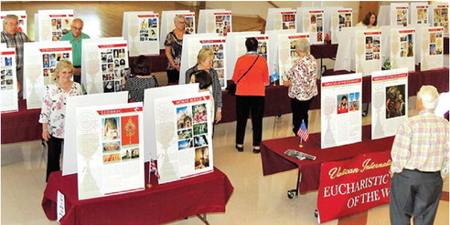 Eucharistic Miracles of the World will be on display at Holy Rosary