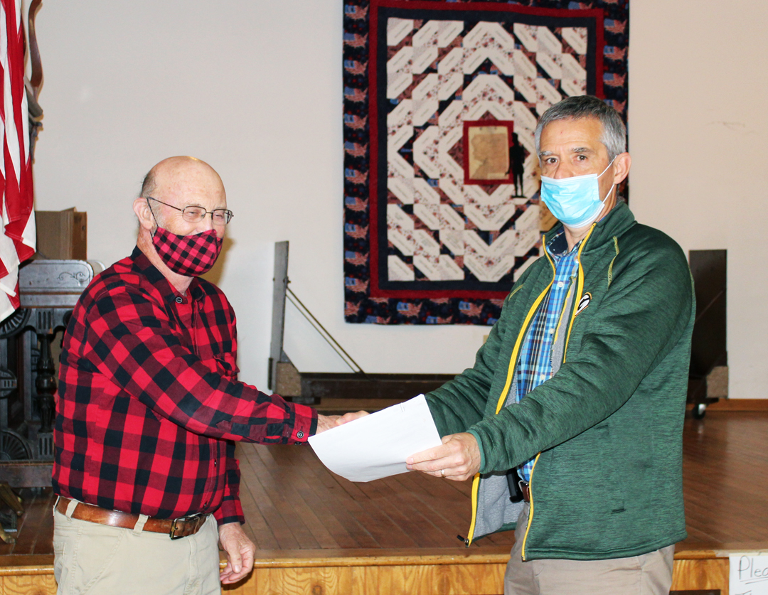 Lake Holcombe Town Annual Meeting; Constable position abolished after lack of interest