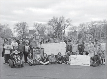 Prevail supports playground effort with charitable giving program