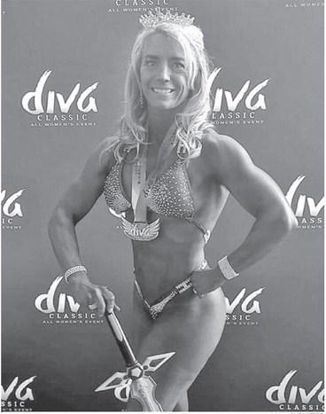 Bodybuilders seek to be best versions of themselves
