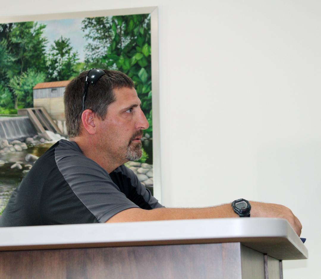 Cadott Village Board; Riverview Park ballfields have updates coming