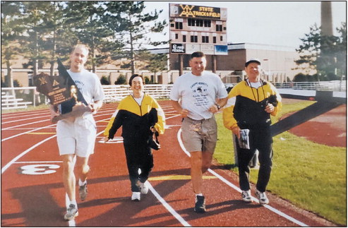 Lenard takes his place in Track Coaches Hall of Fame
