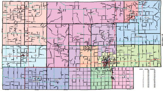 County board approves redistricting plan