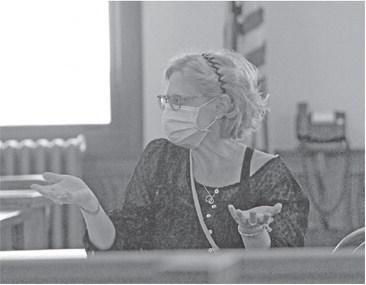 Carla Huston, director of the ….