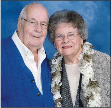 Buchanans celebrate togetherness after 60 years married