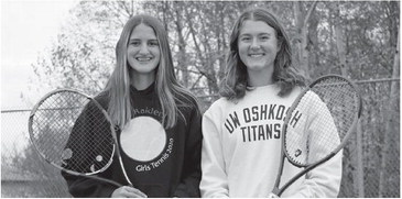 Doubles team finds some early success in state tourney match
