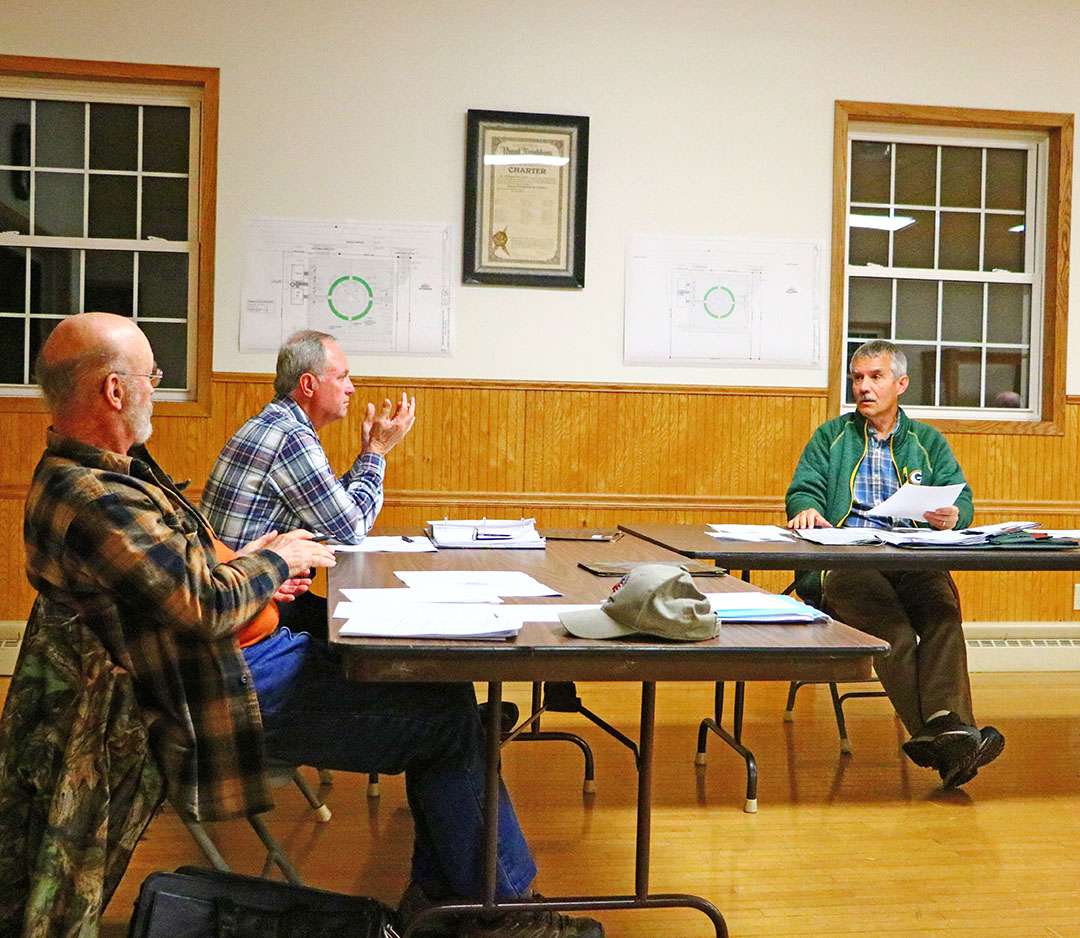 Lake Holcombe Town Board; Ditch project turning into a nightmare for all concerned